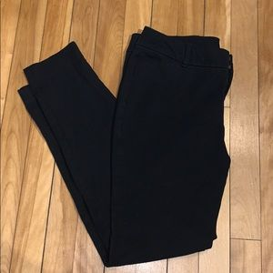 Old Navy Pixie Mid-Rise Black Jeans size 10P